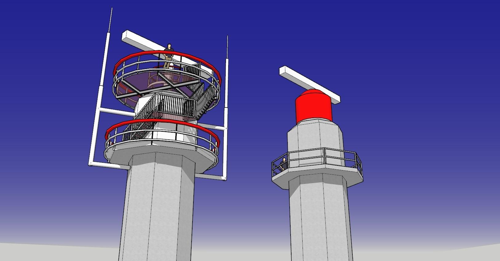 Vervanging koepels radartorens succesvol van start